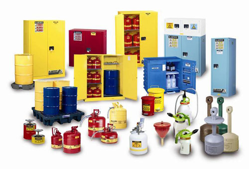 Justrite Safety Cans & Cabinets